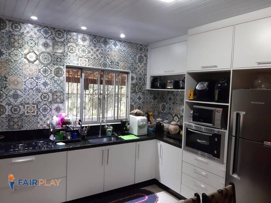 Chácara com 3 dormitórios à venda, 1900 m² por R$ 668.000,00 - Loteamento M dos Colibris - Embu-Guaçu/SP