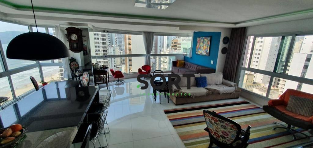 Apartamento no Edifício Tour Chapelle,  3 Suítes, 3 Vagas de garagem, Balneário Camboriú