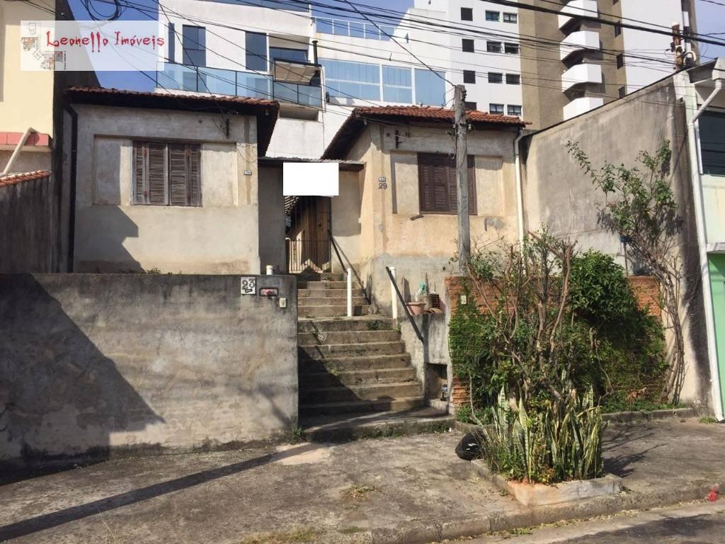 Terreno à venda, 280 m² - Campestre - Santo André/SP