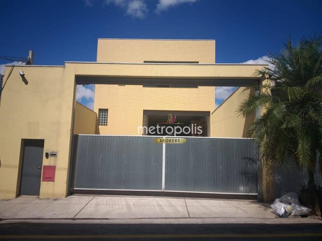 Galpão, 1150 m² - venda por R$ 4.190.000,00 ou aluguel por R$ 22.000,00/mês - Nova Gerty - São Caetano do Sul/SP