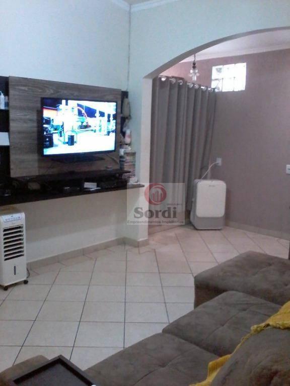 Casa à venda, 163 m² por R$ 580.000,00 - Jardim Paulistano - Ribeirão Preto/SP