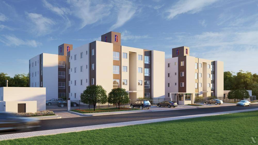 Apartamento residencial à venda, Cristo Rei, Içara. valor atualizado pelo cub do mes