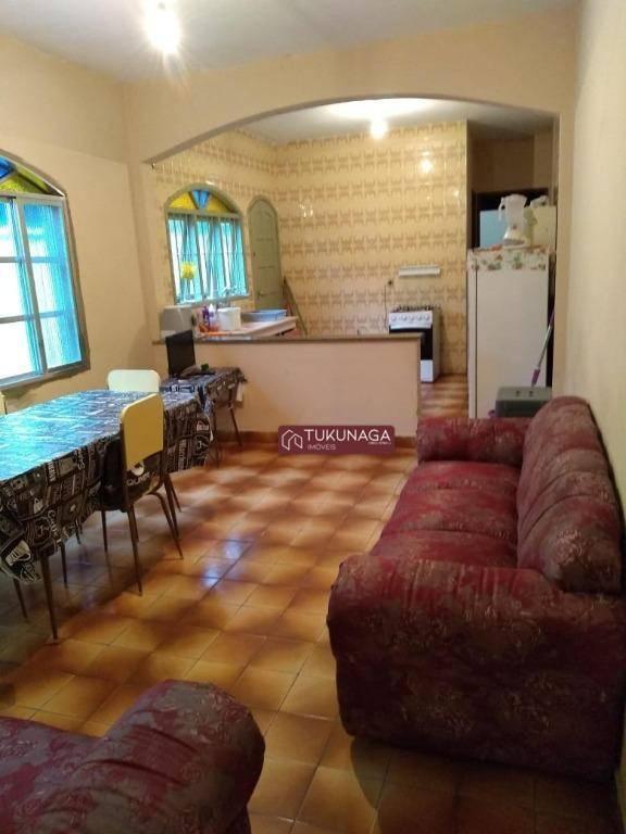 Casa Mongaguá com 2 dormitórios à venda, 57 m² por R$ 185.000 - Itaóca - Mongaguá/SP