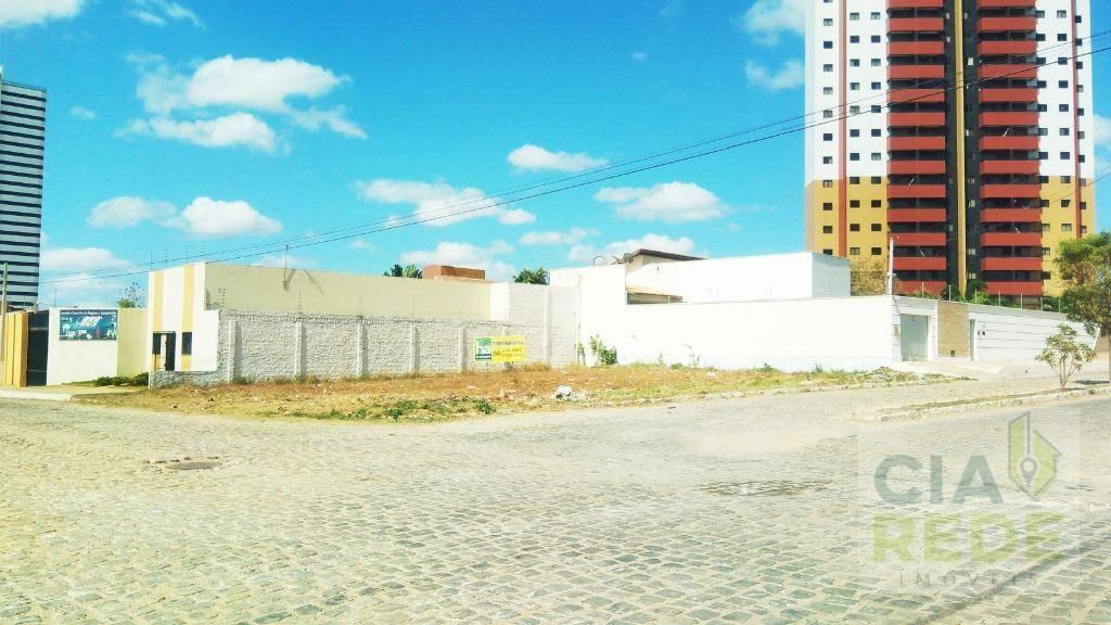 Terreno à venda, 424 m² por R$ 340.000 - Nova Betânia - Mossoró/RN