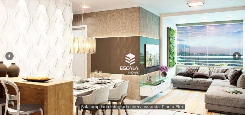 Apartamento com 3 quartos à venda, 65 m², 2 vagas, área de lazer, financia - Messejana - Fortaleza/CE