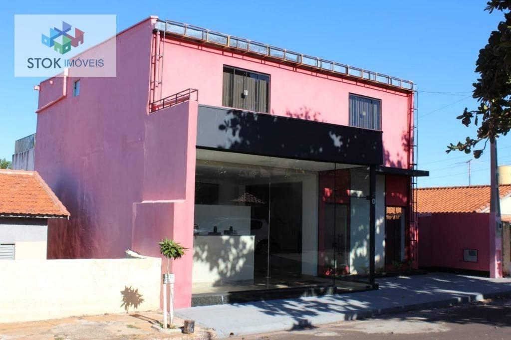 Casa com 2 dormitórios à venda, 430 m² por R$ 990.000,00 - Centro - Santa Cruz do Rio Pardo/SP