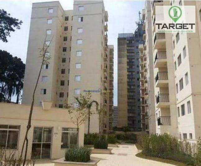 Apartamento com 2 dormitórios à venda, 47 m² por R$ 240.000 - Parque Sete de Setembro - Diadema/SP