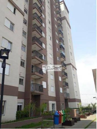 Apartamento residencial à venda, Jardim Cristiane, Santo And