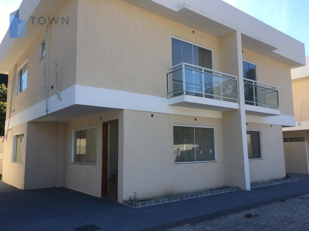 Casa com 3 dormitórios para alugar, 90 m² por R$ 2.400,00/mês - Serra Grande - Niterói/RJ