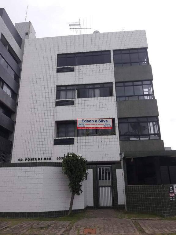 Apartamento com 2 dormitórios à venda, 60 m² por R$ 160.000 - Intermares - Cabedelo/PB