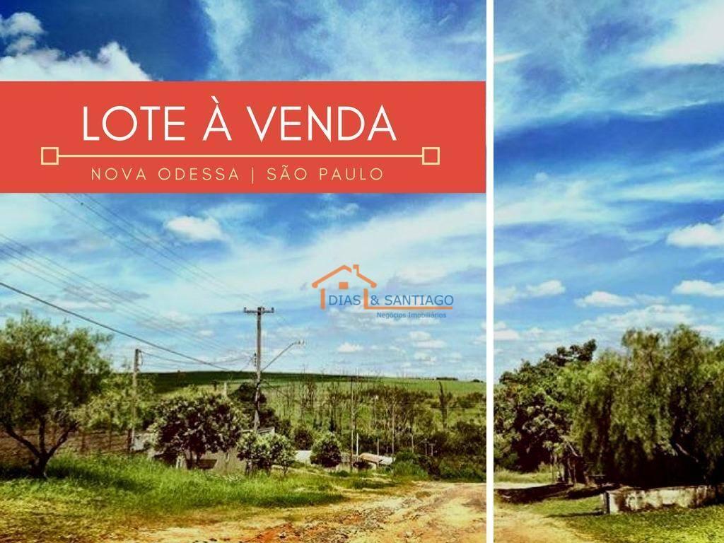 Terreno Residencial à venda, Chácaras de Recreiro Represa, Nova Odessa - .