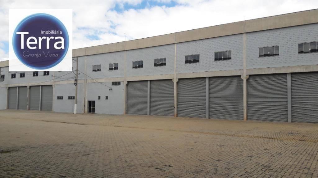 Galpão para alugar, 6468 m² por R$ 129.371,00/mês - Raposo Tavares - Cotia/SP