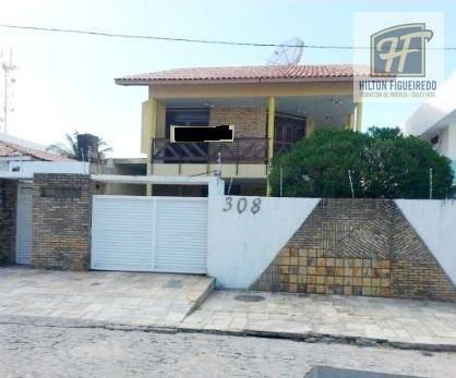 Alugo Casa no Bessa c 5 quartos, sendo 2 suites, 2 wc, 2 salas, jardim, pergolado, dce, jardim;  R$ 3.500/mês - Bessa - João Pessoa/PB