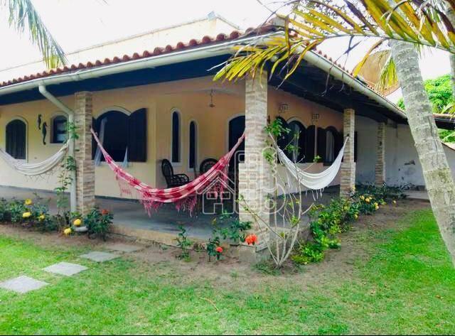 Casa com 2 dormitórios à venda, 189 m² por R$ 320.000 - Praia Seca - Araruama/RJ