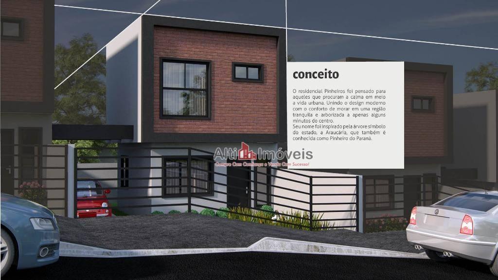 Sobrado residencial à venda, Porto das Laranjeiras, Araucária.