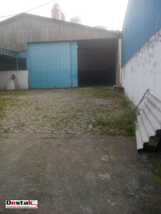 Galpão  - Campestre - Santo André/SP