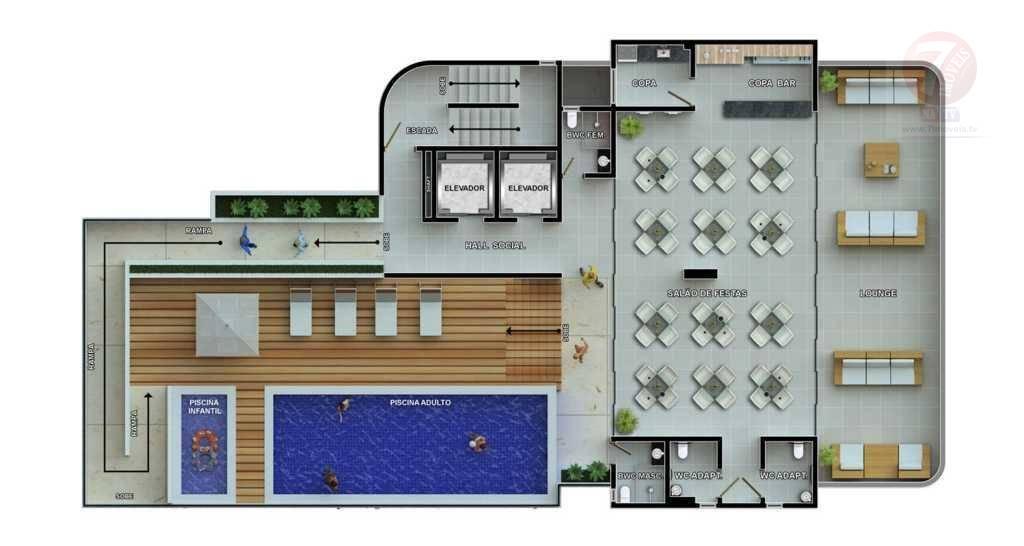 Apartamento  residencial à venda, Conjunto Pedro Gondim, Joã