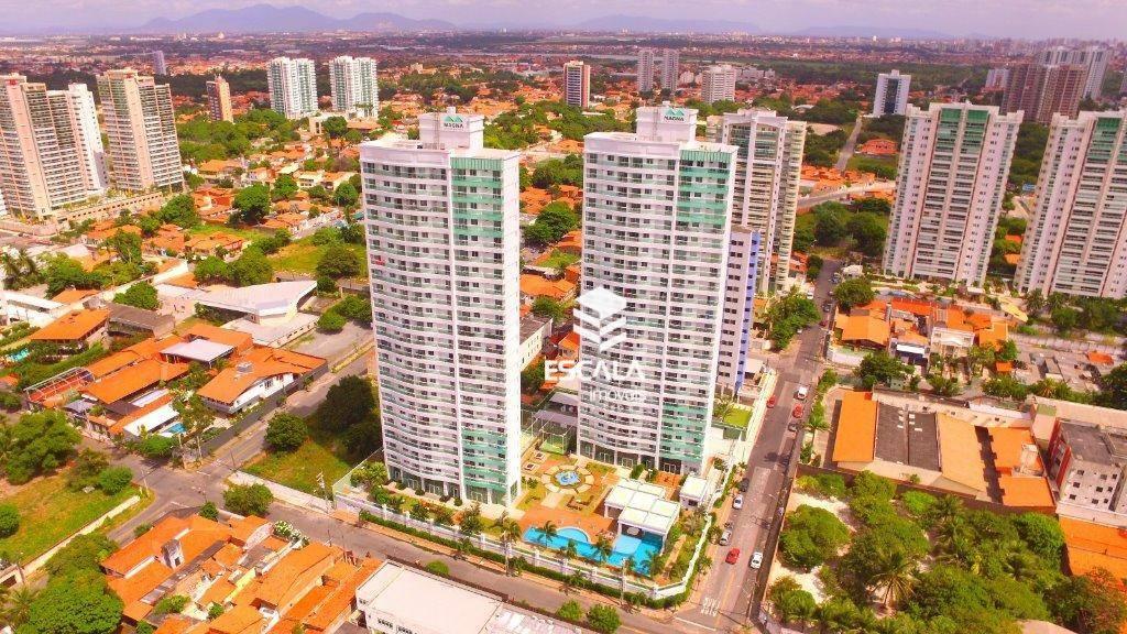 Apartamento com 3 quartos à venda, 70 m², 2 suítes, área de lazer, 2 vagas, financia ? Luciano Cavalcante - Fortaleza/CE