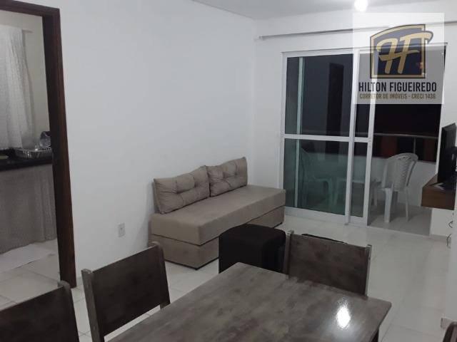 Apartamento com 2 dormitórios para alugar, 60 m² por R$ 190/dia - Bessa - João Pessoa/PB