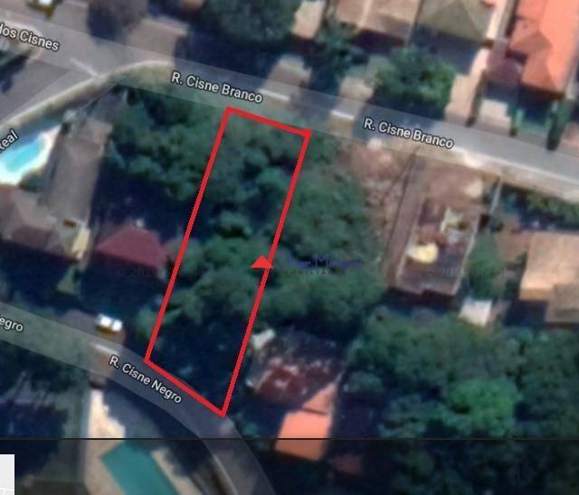 Terreno à venda, 408 m² por R$ 130.000,00 - Lago dos Cisnes - Jandira/SP