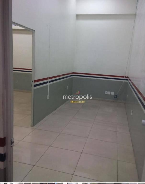 Salão para alugar, 170 m² - Centro - Santo André/SP