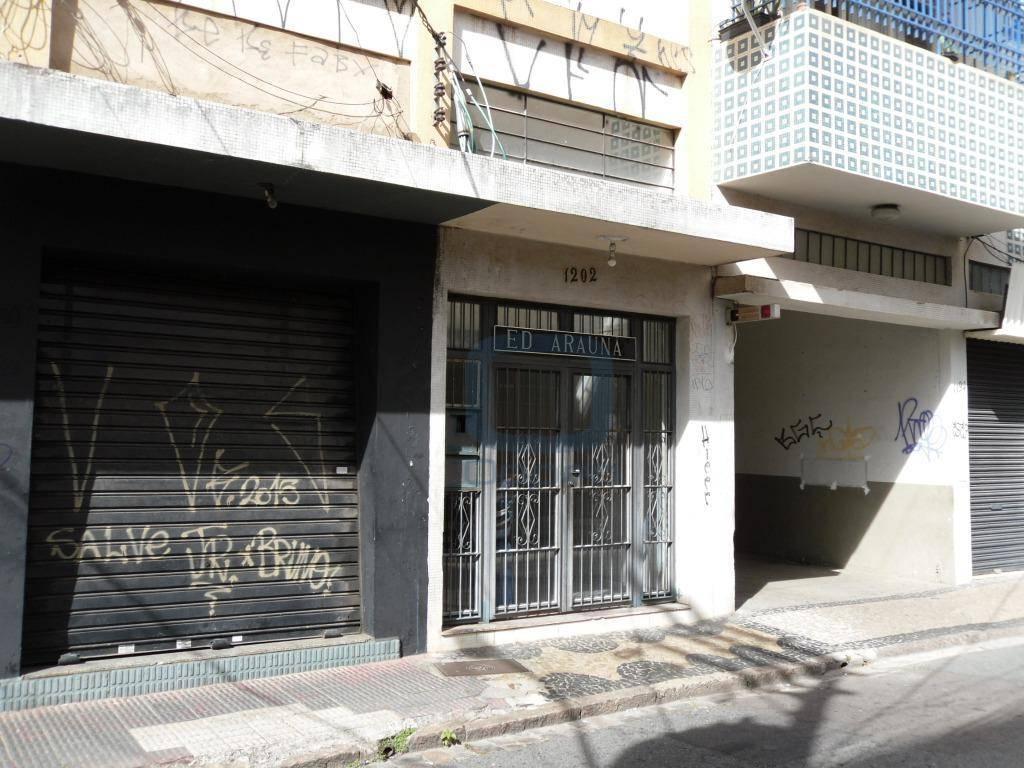 Kitnet com 1 dormitório, 35 m² - venda por R$ 96.000,00 ou aluguel por R$ 600,00/mês - Centro - Campinas/SP