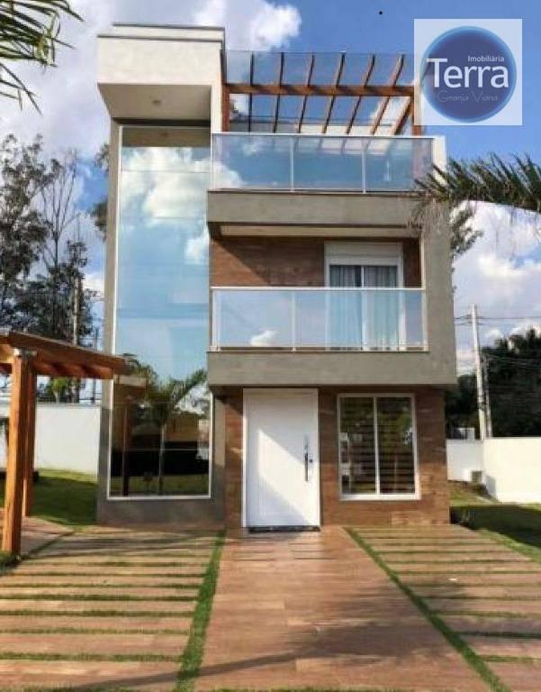 Casa com 3 dormitórios à venda, 169 m²  - Modern Granja Viana - Granja Viana
