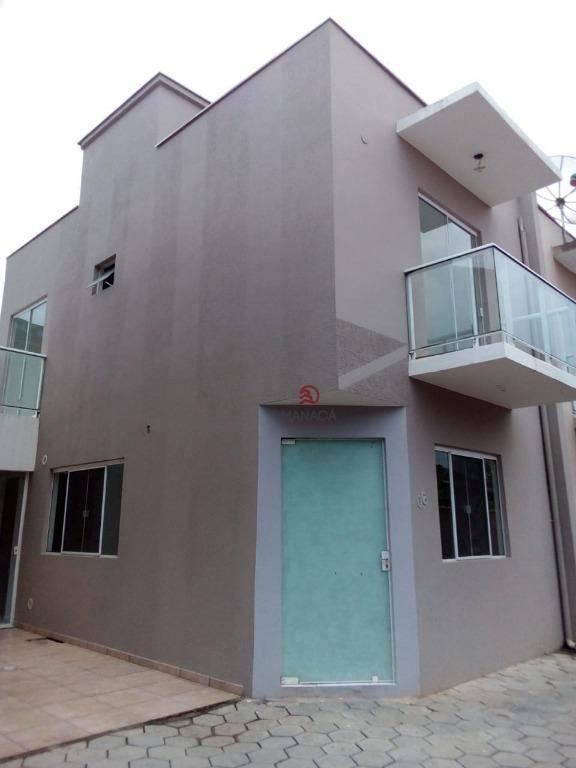 Sobrado com 2 dormitórios para alugar, 82 m² por R$ 800,00/mês - Centro - Barra Velha/SC