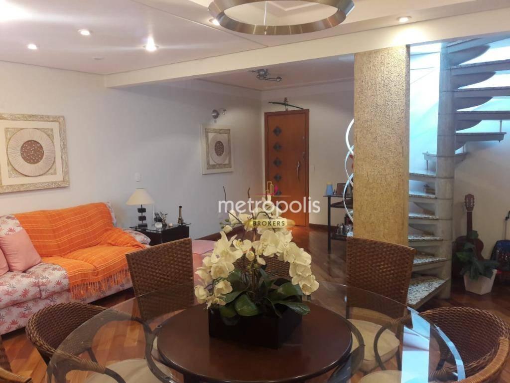 Cobertura à venda, 140 m² por R$ 595.000,00 - Santa Paula - São Caetano do Sul/SP