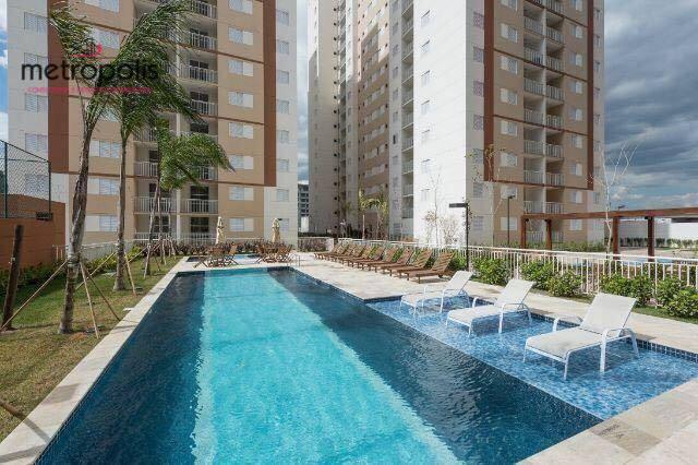 Apartamento com 2 dormitórios à venda, 64 m² por R$ 400.000,00 - Jardim - Santo André/SP