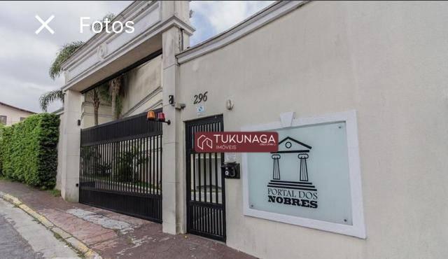 Sobrado, 134 m² - venda por R$ 580.000,00 ou aluguel por R$ 2.100,00/mês - Vila Eldízia - Santo André/SP