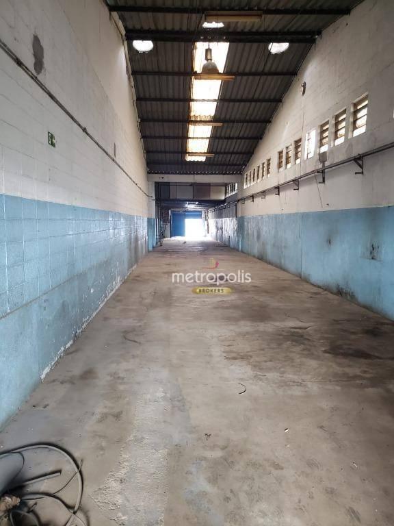 Galpão para alugar, 514 m² por R$ 7.200,00/mês - Planalto - São Bernardo do Campo/SP