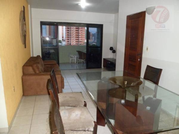 Apartamento residencial para locação, Bessa, João Pessoa - A