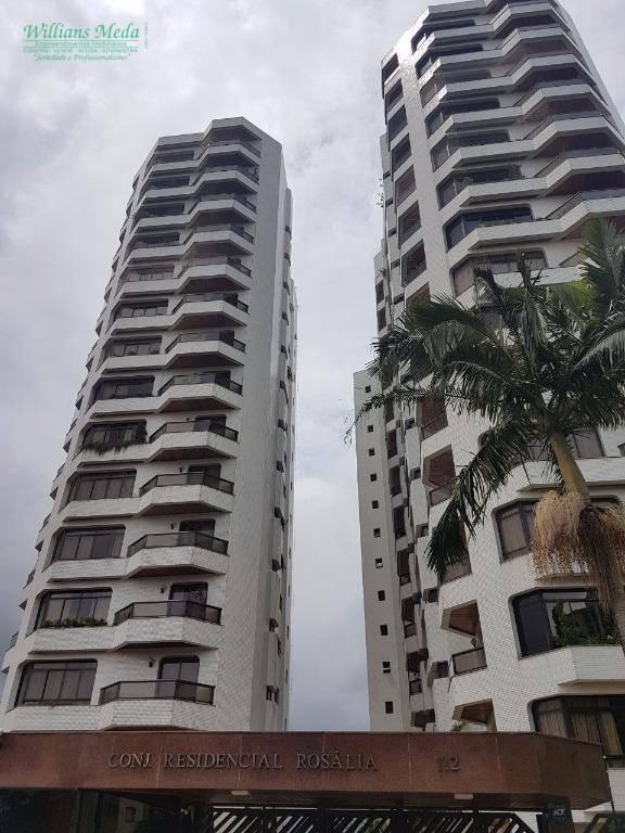 Apartamento residencial para venda e locação, Vila Rosália,