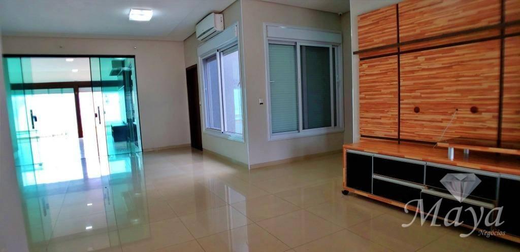 Casa 3 Quartos, Sendo 2 Suítes, 256 m² c/ armários e lazer na 208 Norte