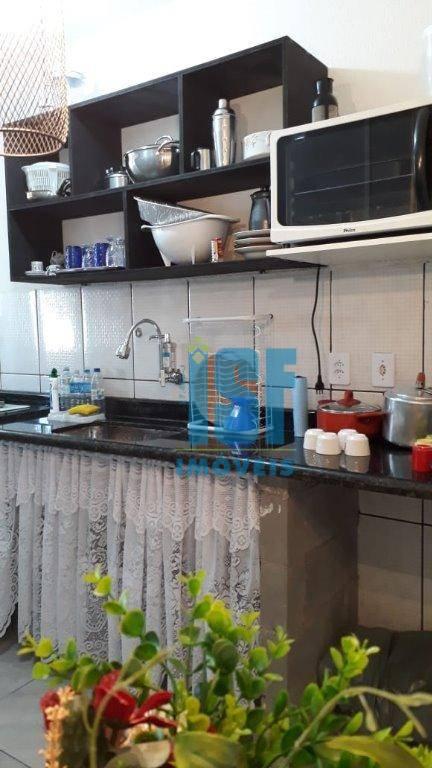 Apartamento com 2 dormitórios à venda, 48 m² por R$ 70.000 - Balneário Guapurá - Itanhaém/SP - AP20668.