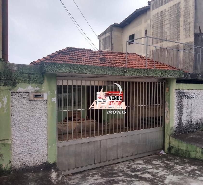 Terreno à venda, 250 m² por R$ 400.000 - Parque João Ramalho - Santo André/SP