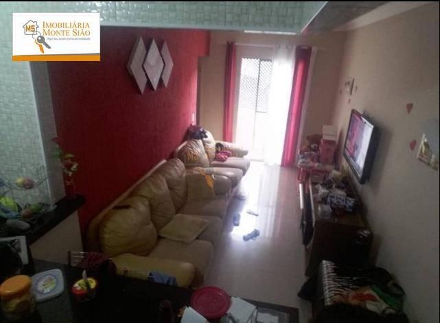 Apartamento com 2 dormitórios à venda, 63 m² por R$ 170.000,00 - Mikail II - Guarulhos/SP