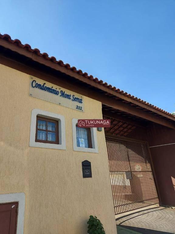 Sobrado com 3 Suites em condominio fechado , 110 m² por R$ 440.000 - Jardim do Papai - Guarulhos/SP
