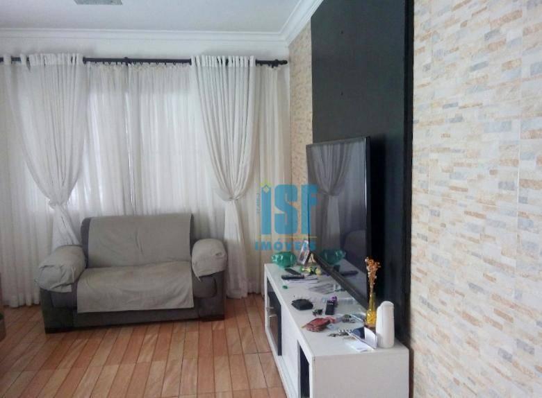 Sobrado com 3 dormitórios à venda, 189 m² por R$ 640.000 - Km 18 - Osasco/SP - SO4672.