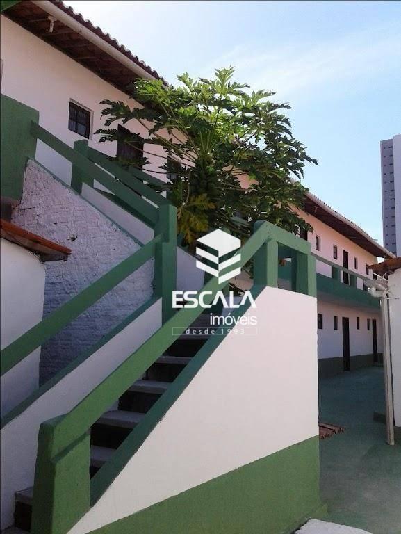 Kitnet com 1 dormitório para alugar, 30 m² por R$ 450,00/mês - Meireles - Fortaleza/CE