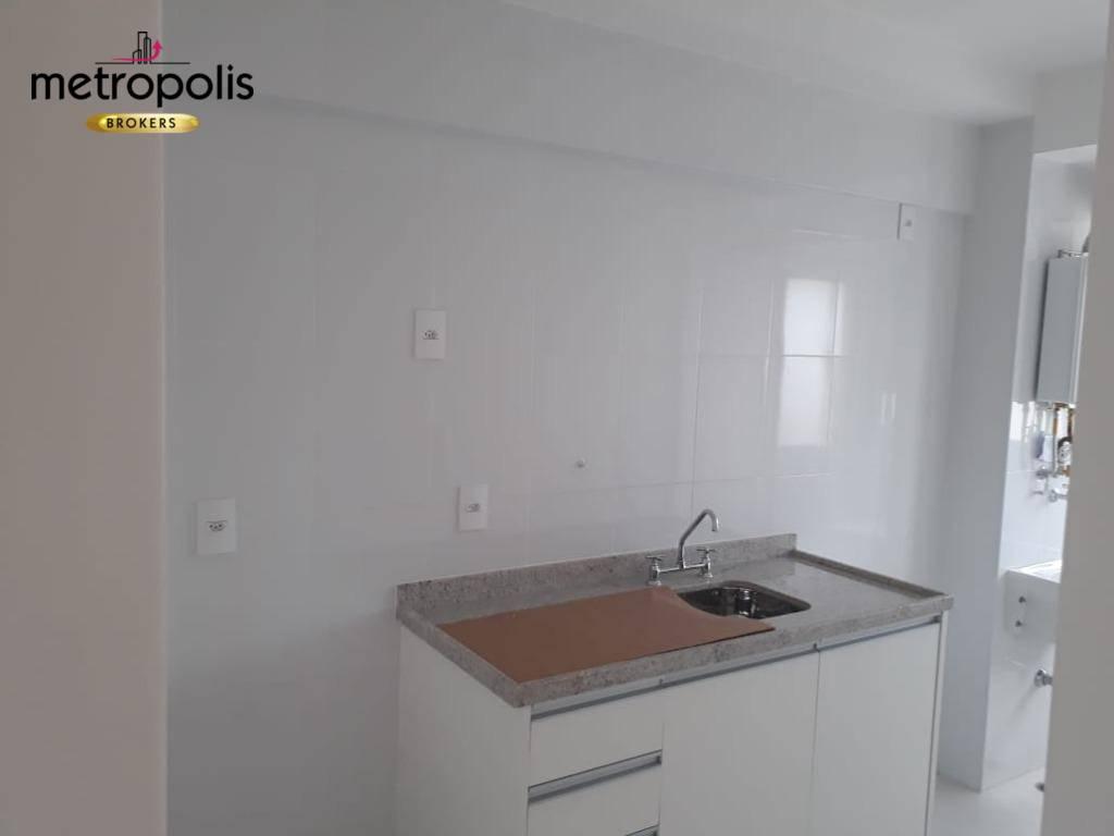 Apartamento com 2 dormitórios para alugar, 64 m² por R$ 1.630/mês - Fundação - São Caetano do Sul/SP