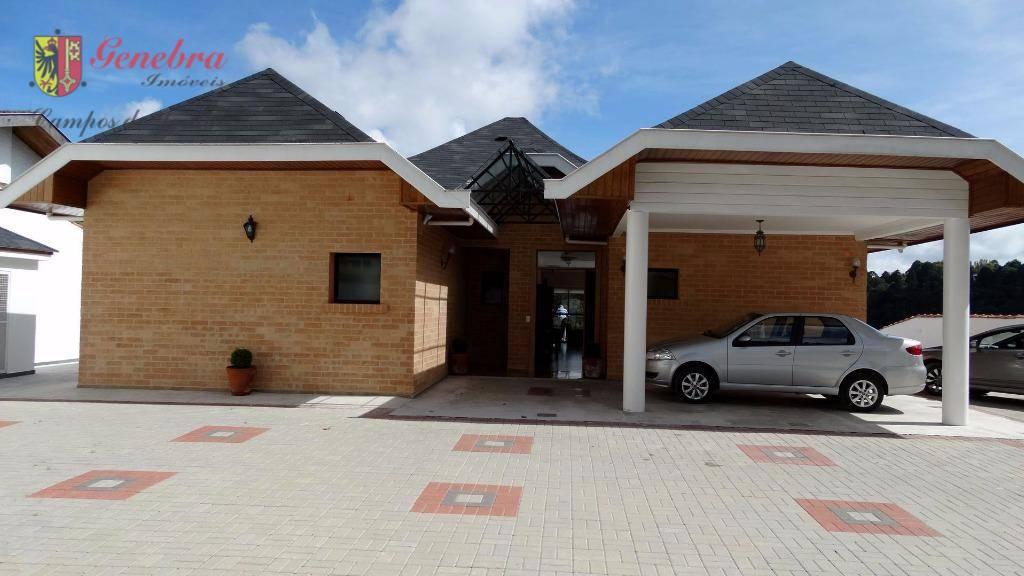 Casa residencial à venda, Alto da Boa Vista, Campos do Jordão.