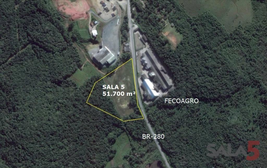 Terreno/Lote à venda  no Rocio Grande - São Francisco do Sul, SC. Imóveis