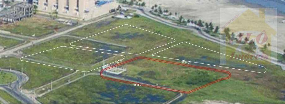 Terreno à venda, 7764 m² por R$ 36.000.000 - Vila Mirim - Praia Grande/SP