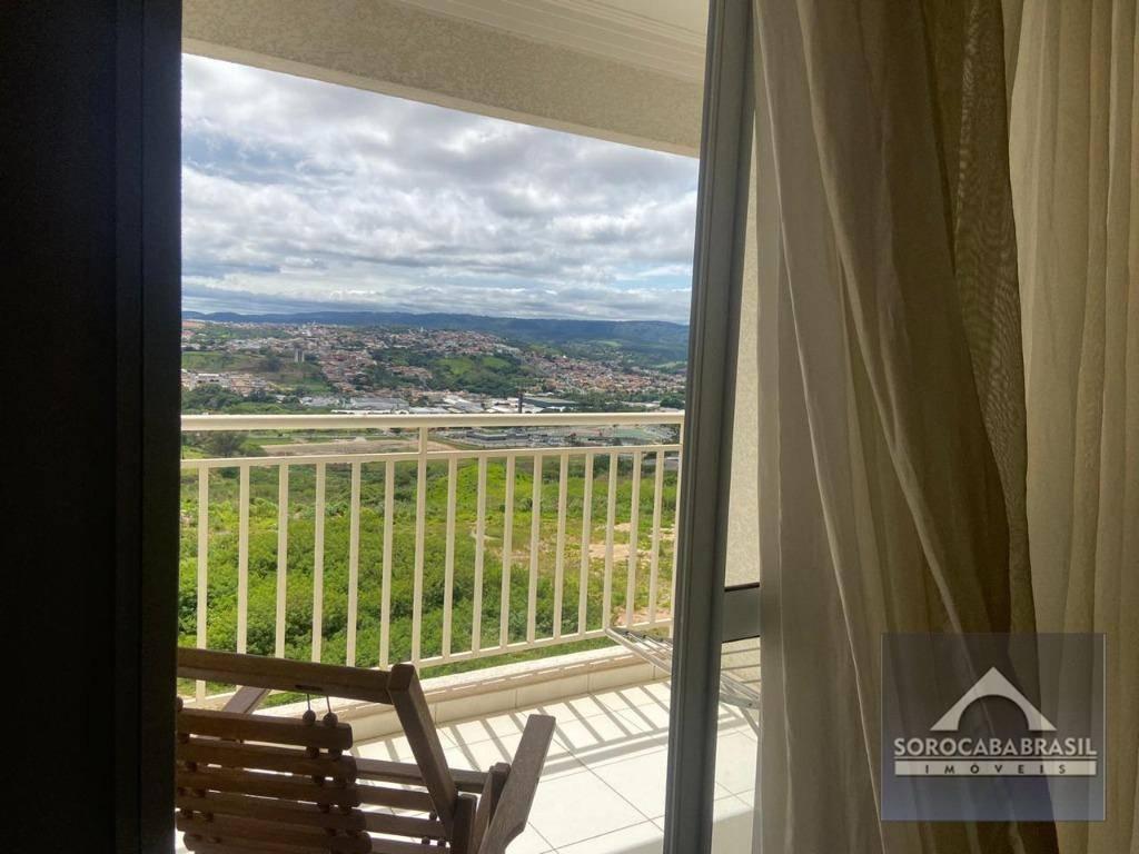 Apartamento com 3 dormitórios para alugar, 78 m² por R$ 2.200/mês - Condomínio Vitrine Esplanada - Votorantim/SP, ao lado do Shopping Iguatemi.