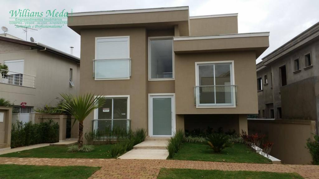 Sobrado residencial à venda, 4 dormitórios,4 suítes e 8 vagas, Alphaville, Santana de Parnaíba.