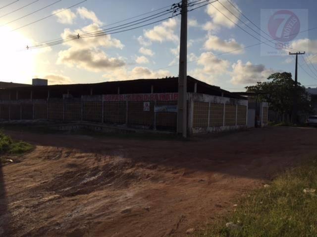 Galpão comercial à venda, Amazônia Park, Cabedelo - GA0002.