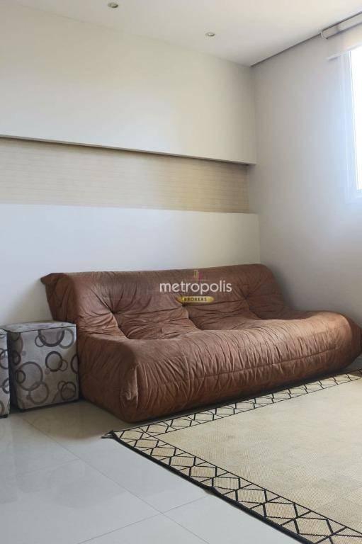 Flat com 1 dormitório à venda, 43 m² por R$ 203.000,00 - Jardim Bela Vista - Santo André/SP