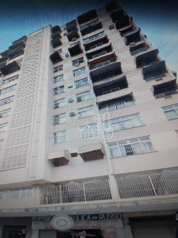 Apartamento com 2 dormitórios à venda, 72 m² por R$ 240.000 - Fonseca - Niterói/RJ